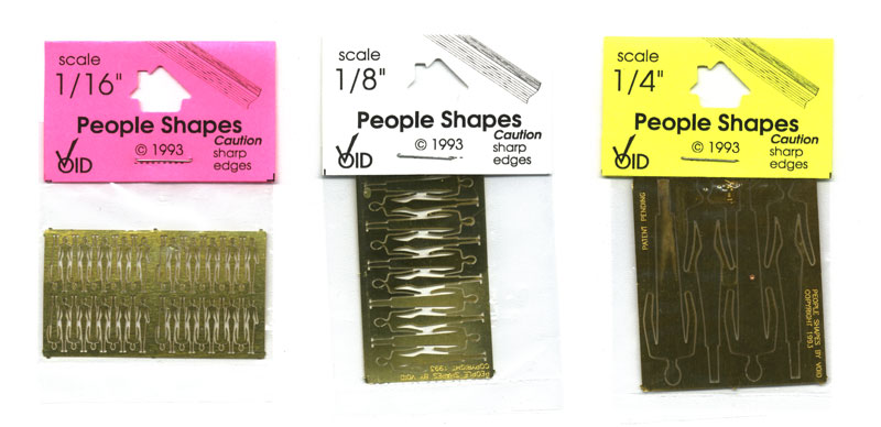 People Shapes kits packaged for retail sales.