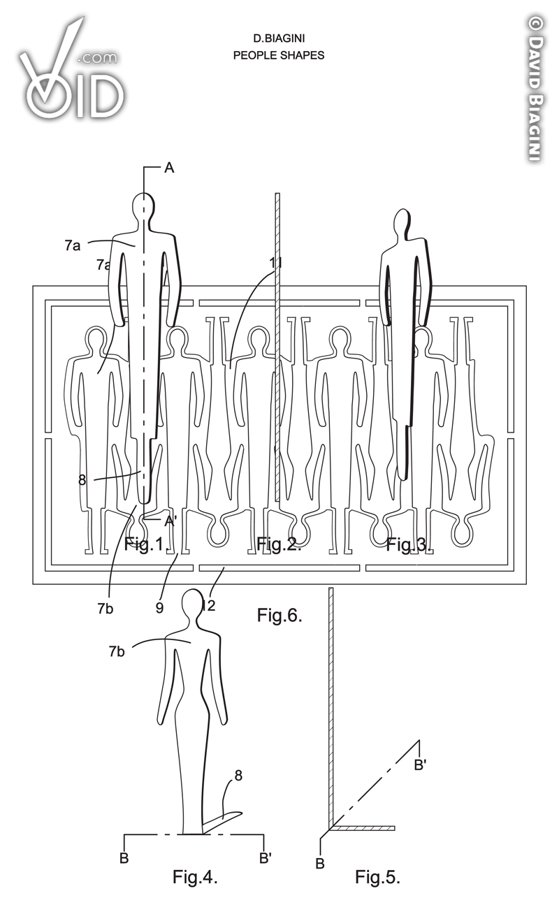 People Shapes Patent Drawings.